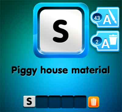 one-clue-piggy-house-material