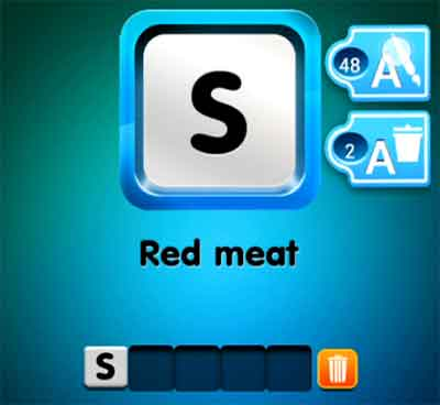 one-clue-red-meat