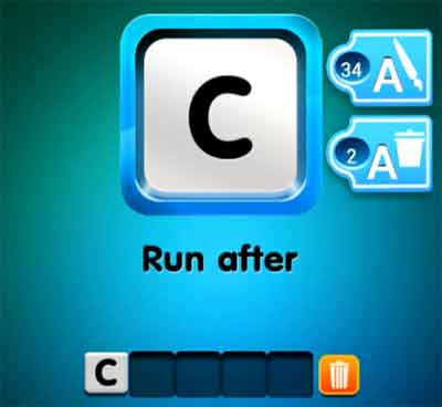one-clue-run-after