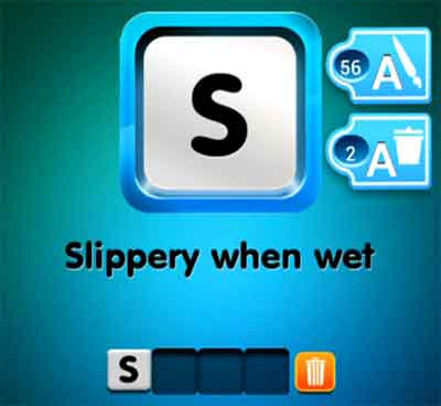 one-clue-slippery-when-wet