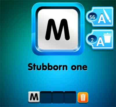 one-clue-stubborn-one