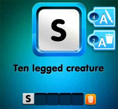 one-clue-ten-legged-creature