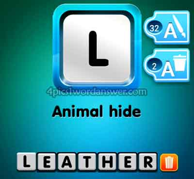 one-clue-animal-hide