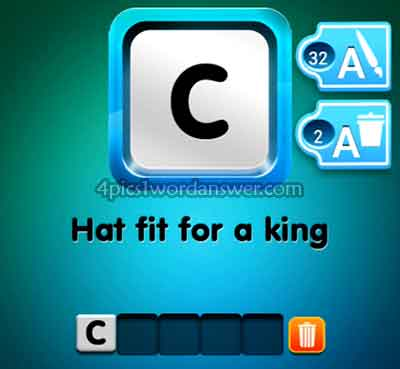 one-clue-hat-fit-for-a-king