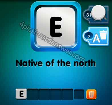 one-clue-native-of-the-north