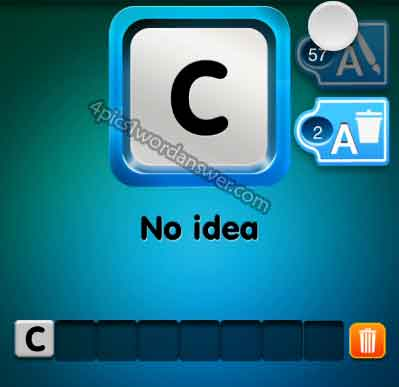 one-clue-no-idea