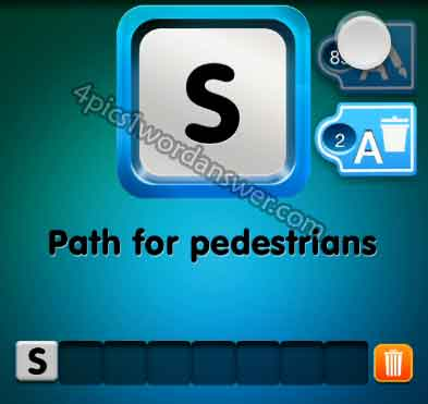 one-clue-path-for-pedestrians