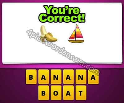 emoji-banana-and-ship-boat