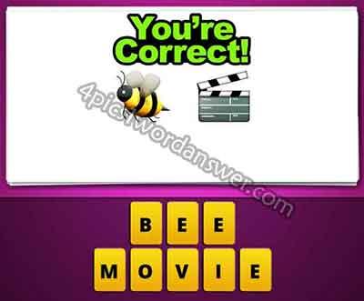 emoji-bee-and-movie-clapper-board