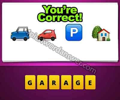 emoji-car-car-p-house