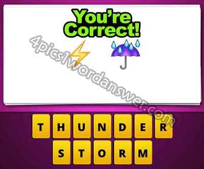 emoji-lightning-and-umbrella-rain