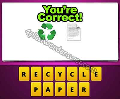 emoji-recycle-logo-and-paper