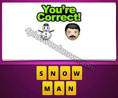 emoji-snowman-and-man-face