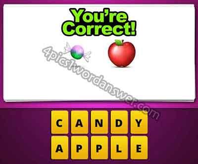 emoji-sweet-candy-and-apple