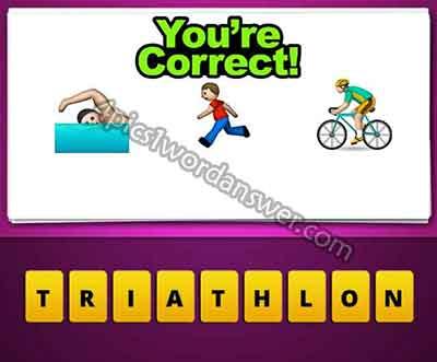 emoji-swimming-running-man-cycling