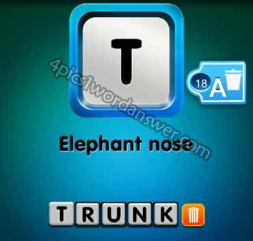 one-clue-elephant-nose