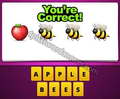 emoji-apple-bee-bee-bee