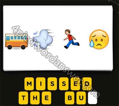 emoji-bus-smoke-running-man-sweat-face