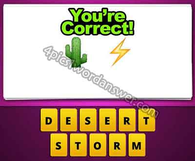 emoji-cactus-and-lightning-bolt