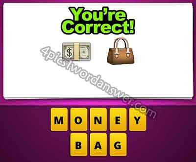 emoji-cash-money-and-purse-bag