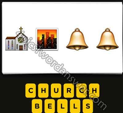 emoji-church-sunset-city-bell-bell
