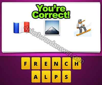 emoji-french-flag-mountain-snowboarder