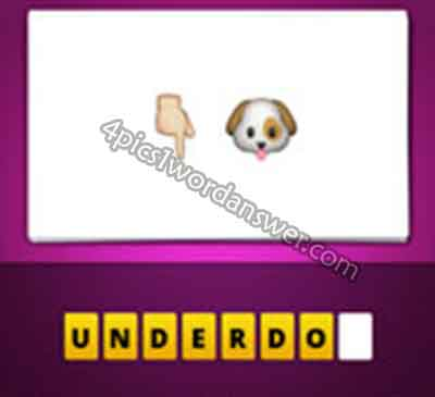 emoji-hand-pointing-down-and-dog