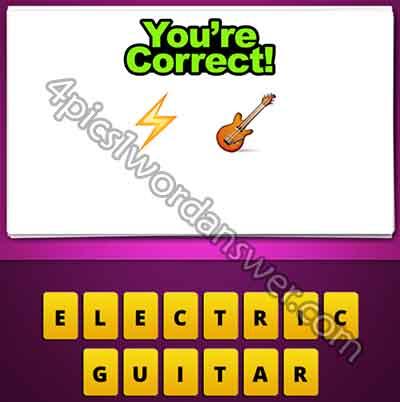 emoji-lightning-bolt-and-guitar
