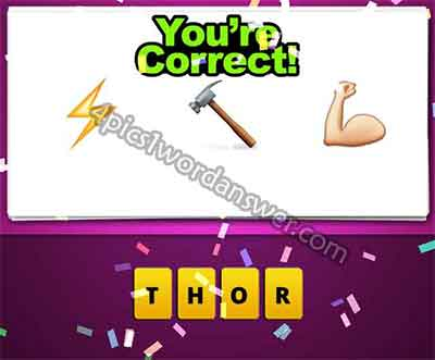 emoji-lightning-bolt-hammer-arm-muscle