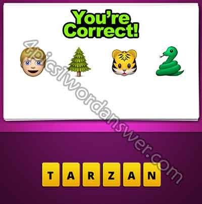 emoji-man-tree-tiger-snake