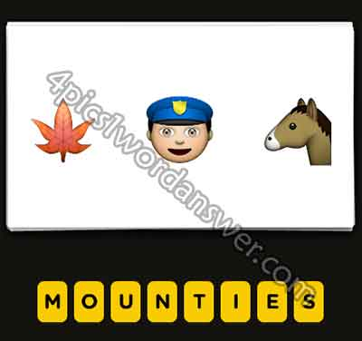 emoji-maple-leaf-cop-horse