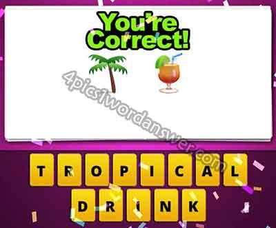emoji-palm-tree-and-cocktail-juice-drink