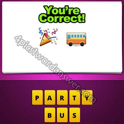 emoji-party-hat-and-bus
