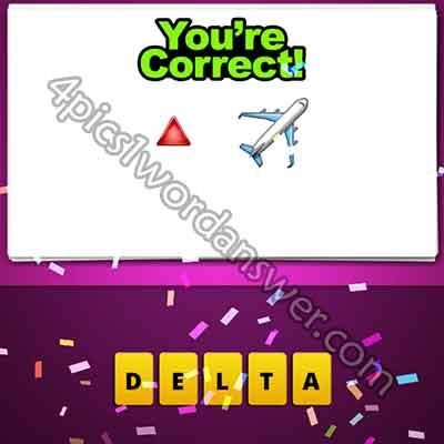 emoji-red-triangle-and-plane