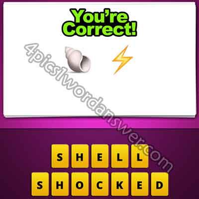 emoji-shell-and-lightning-bolt