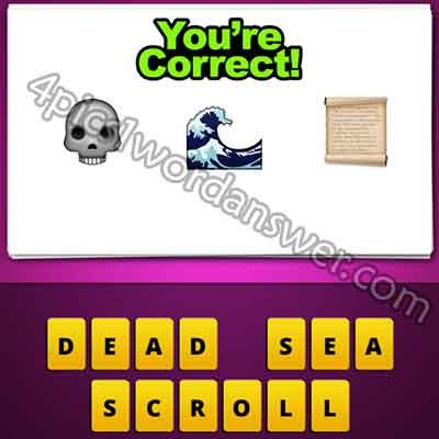 emoji-skull-sea-wave-paper-scroll