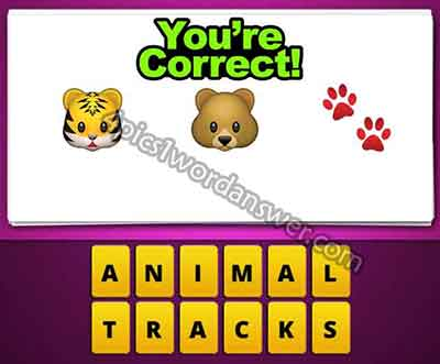 emoji-tiger-bear-paw-prints