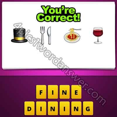 emoji-top-hat-silverware-spaghetti-food-wine-drink