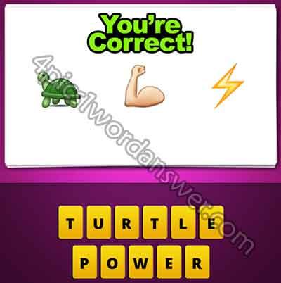 emoji-turtle-arm-muscle-lightning-bolt