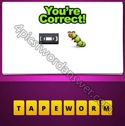 emoji-video-tape-and-worm
