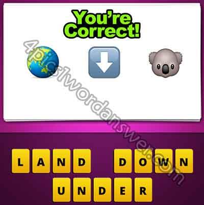 emoji-world-globe-down-arrow-koala