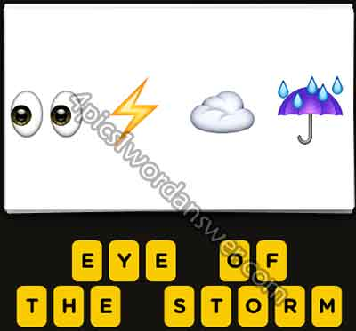emoji-eyes-lightning-bolt-cloud-umbrella-rain