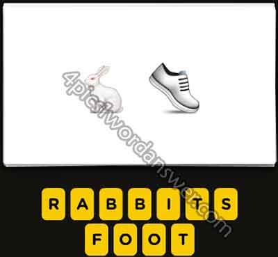 emoji-rabbit-and-white-shoe