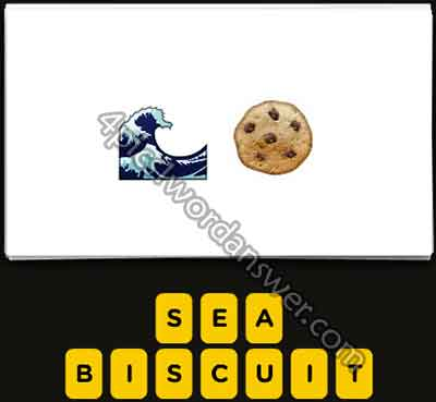 emoji-sea-wave-and-cookie