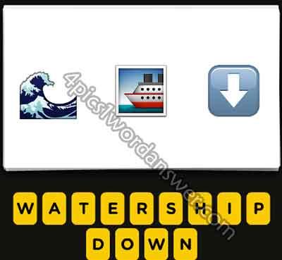 emoji-sea-wave-ship-down-arrow