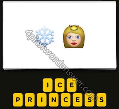 emoji-snowflake-and-princess-queen
