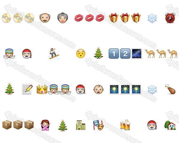 100-pics-christmas-emoji-level-21-40-answers