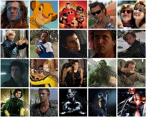 100 pics movie heroes level 41