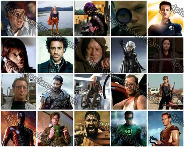 100 pics movie heroes level 61