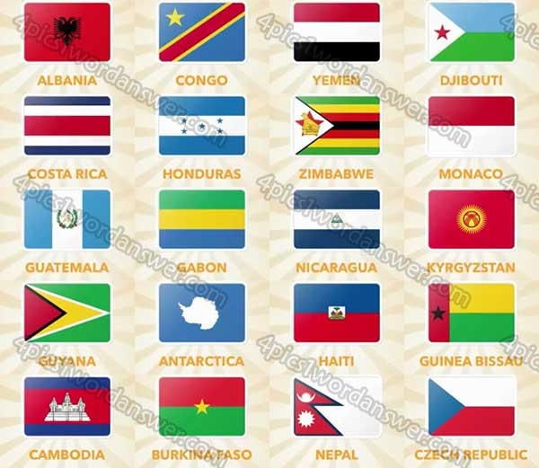 flag-quiz-level-141-160-answers